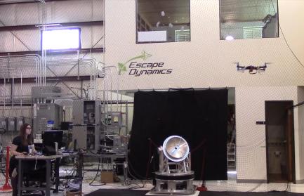 EDI drone tracking tests